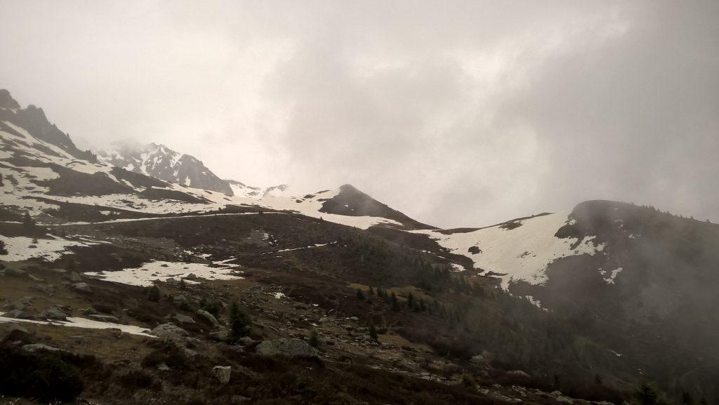 montagne enneigées