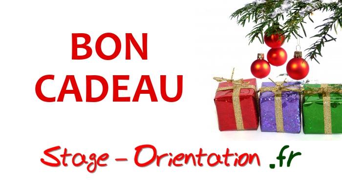 Bon cadeau de Noël Stage Orientation