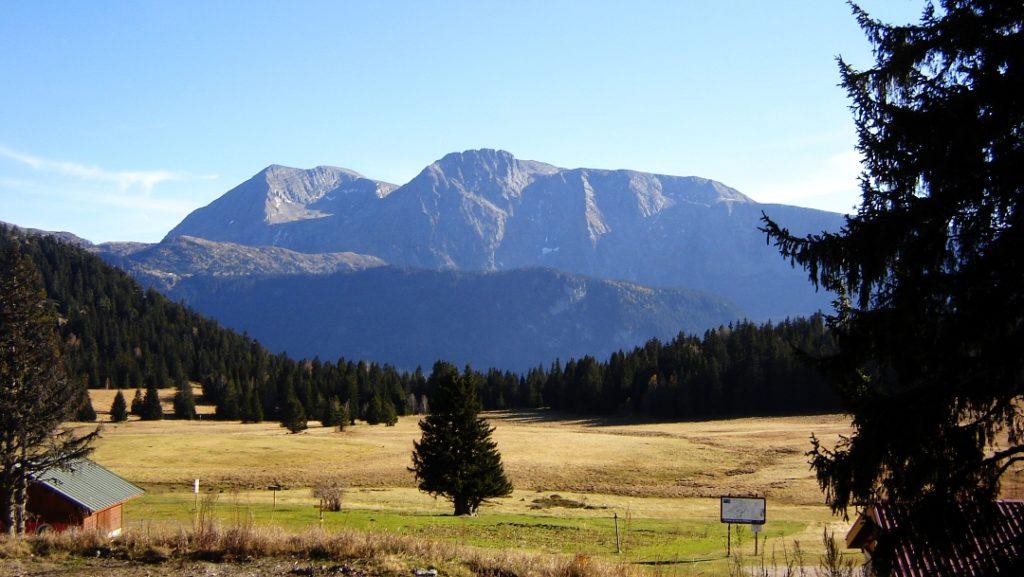 point de vue sur montagne