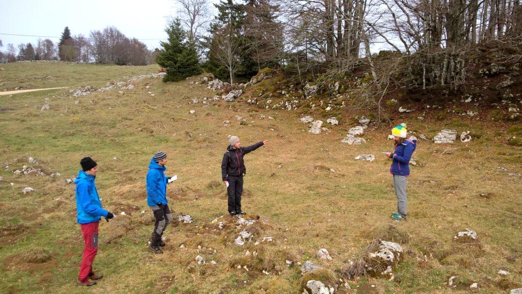 Stage Orientation AMM dans le Jura - Plateau du Retord 8