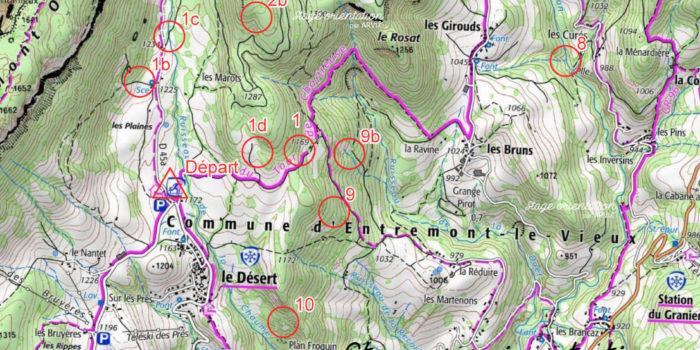 Carte De L'épreuve D'orientation - Examen Probatoire Savoie 2019